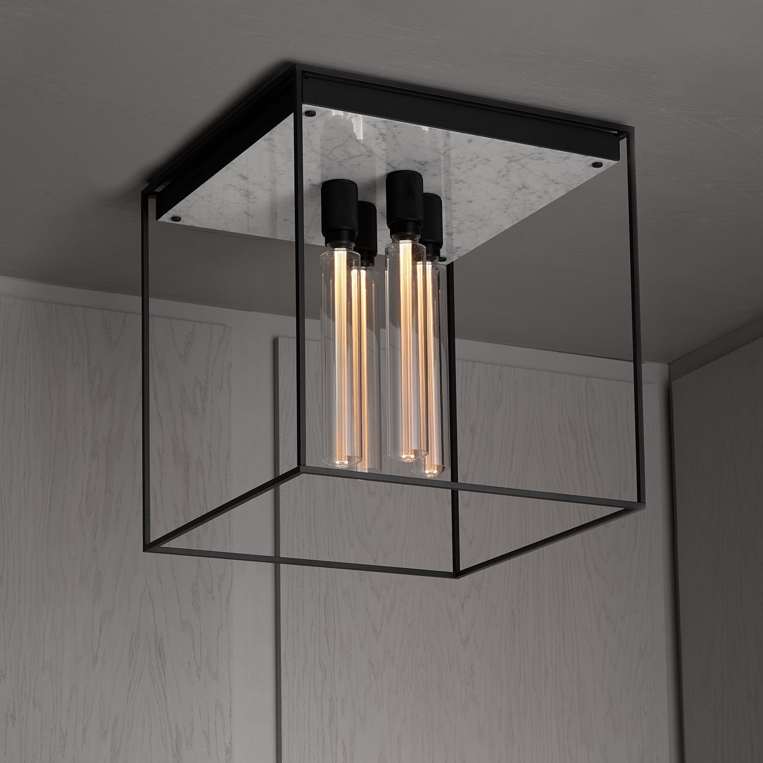 Buster Punch Caged Ceiling Lamp Lamptwist